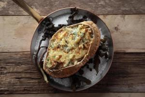 HeraldScotland: The Herald Magazine recipe: brown crab and cheddar gratin