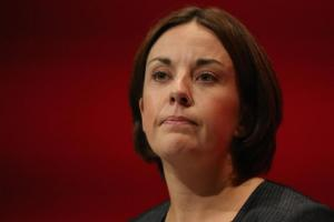 Scottish Labour leader Kezia Dugdale, pictured, unveiled the move as she vowed she would